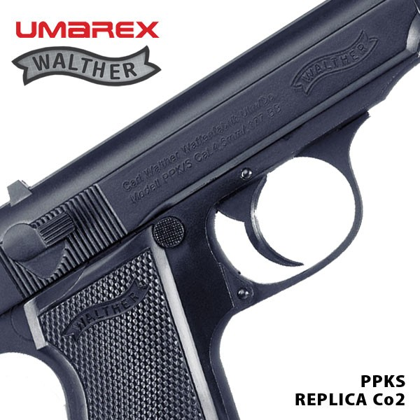 Walther PPK/S Black Blow Back Co2 Air Pistol   (THIS ITEM CANNOT BE LEGALLY  POSTED)